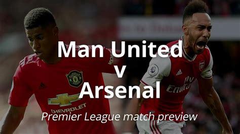Manchester United v Arsenal: Premier League - One News ...
