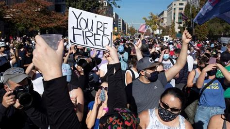 Thousands Turn Out in Downtown LA Urging Trump To Accept ...