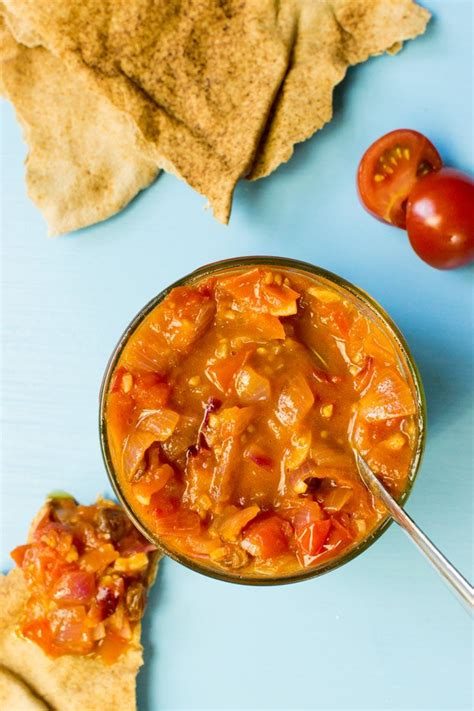 Quick Tomato Chutney  Angloindian Cuisine Made Perfect