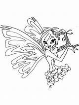 Tecna Winx Ausmalbilder Ausdrucken Malvorlagen Kostenlos Zum Coloring Club sketch template