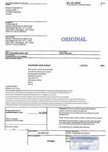 dangerous goods declaration vs bill of lading imdg code With b l documents