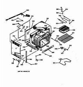 Ge Jds26bw2wh Electric Range Parts