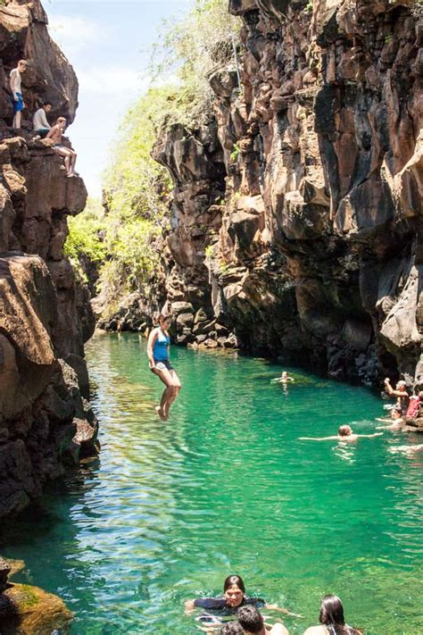 Las Grietas: Our Favorite Place to Swim on Santa Cruz ...
