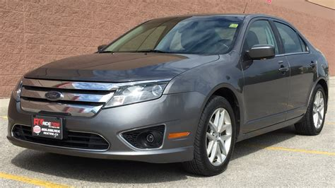 2010 ford fusion sel awd leather sunroof alloy wheels