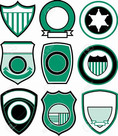 Badge Police Blank Template Clip Emblema Outline