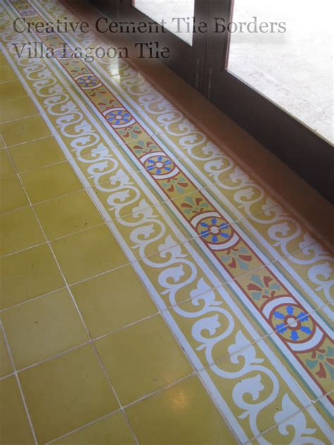 cement tile borders pull    cement style