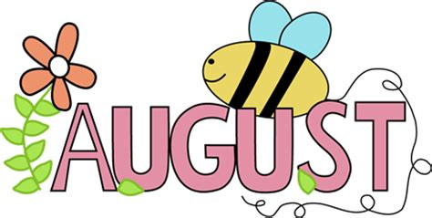 Image result for august clip art