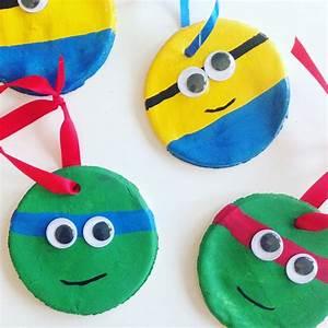 Mit Kindern Weihnachtsdeko aus Salzteig basteln
