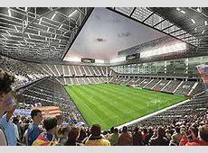El Zaragoza construirá un nuevo estadio de 103 millones de