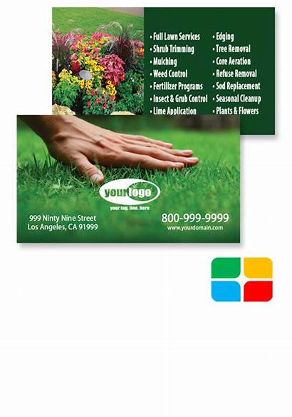 Cards Landscaping Card Landscape Template Layouts Ads