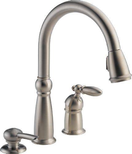 delta victorian single handle kitchen faucet