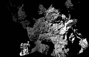 Philae Probe Sends Back First Photo From Surface of Comet ...