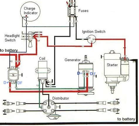 Ignition Charging System Diagram Baja Bugs Truck
