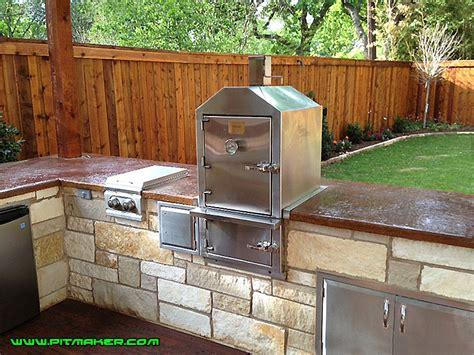 outdoor kitchen designs with smoker outdoor kitchen smoker rapflava 7238