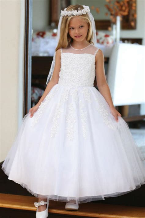 agdr girls dress style dr lace  beaded