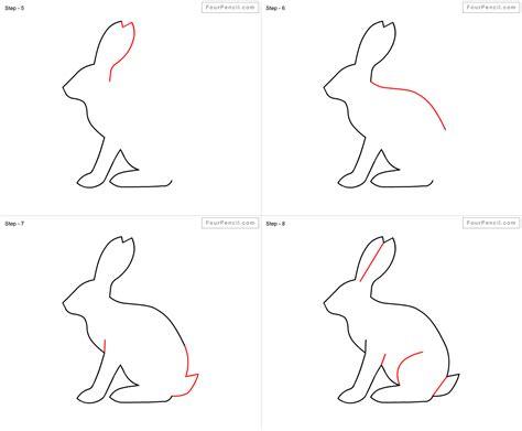How To Draw A Rabbit Step By Step Easy Wwwimgkidcom