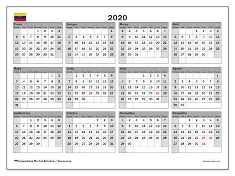 calendario venezuela michel zbinden