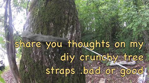How To Use Hammock Tree Straps by D I Y Crunchy Hammock Tree Straps