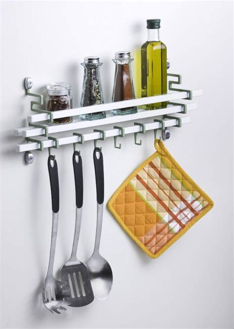 kitchen wall organizer stainless steel eight great ideas for a small kitchen interior design 8706