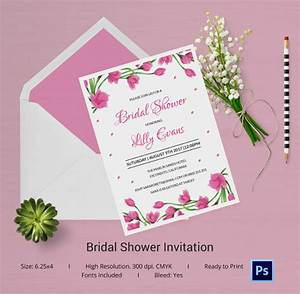 bridal invitations templates wblqualcom With wedding shower template