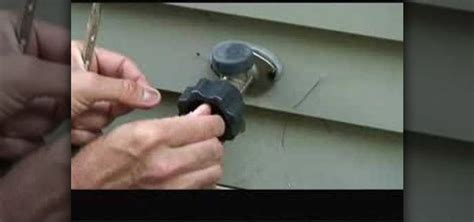 outdoor faucet leaking inside wall construction repair diy help for homeowners and