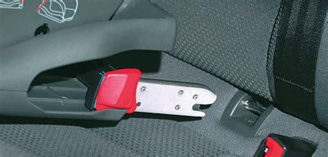 siege auto choisir siège auto isofix vs ou ceintures de sécurité que