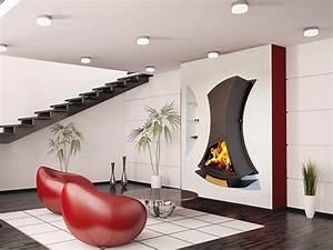 Cheminée Bois Design : ets bonnel chemin es design ~ Premium-room.com Idées de Décoration