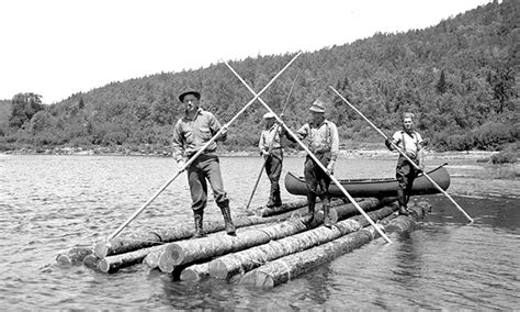 Boat Store Gatineau by Outaouais Forest History An Original Sport Log