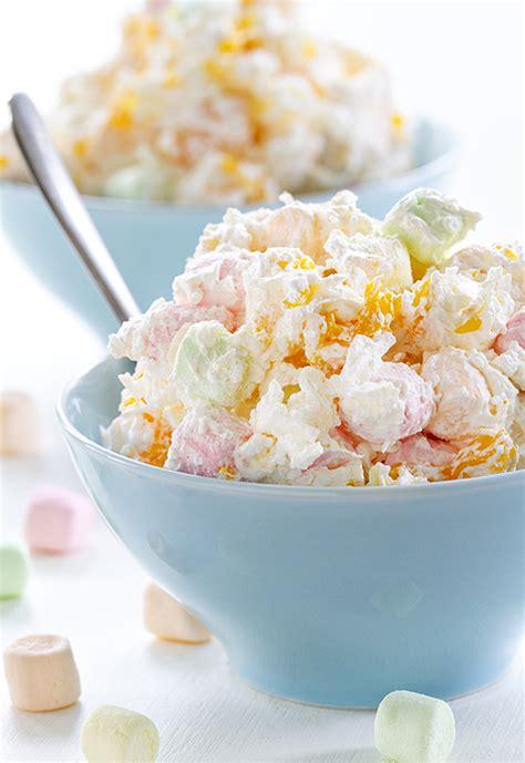 hawaiian salad campfire marshmallows