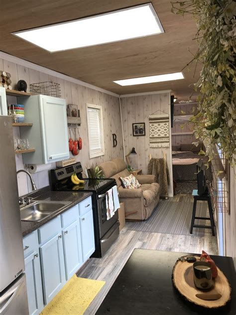 texas container home  sq ft tiny house town