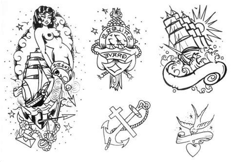 Old School Tattoo Motive Old School Vol 3 Sina Shop Oldschool Edel