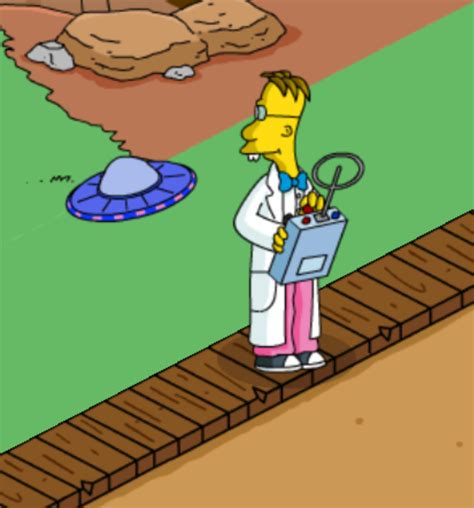 professeur frink wiki les springfield powered by wikia
