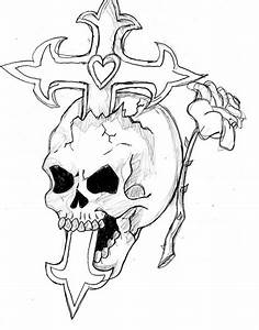 Cool Drawings Of Skulls And Roses | fashionplaceface.com