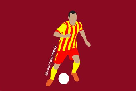 Conor Donnelly Designs — Andres Iniesta | Atletico Madrid ...