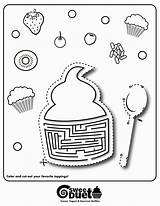 Coloring Yogurt Frozen Muffins Printable Worksheets Pages Grade Math Printables Number Gourmet 3rd Toddlers Muffin Factoring Percentage Formula Minute 1st sketch template