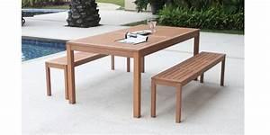 Table Jardin En Bois : table bois jardin cabanes abri jardin ~ Dode.kayakingforconservation.com Idées de Décoration