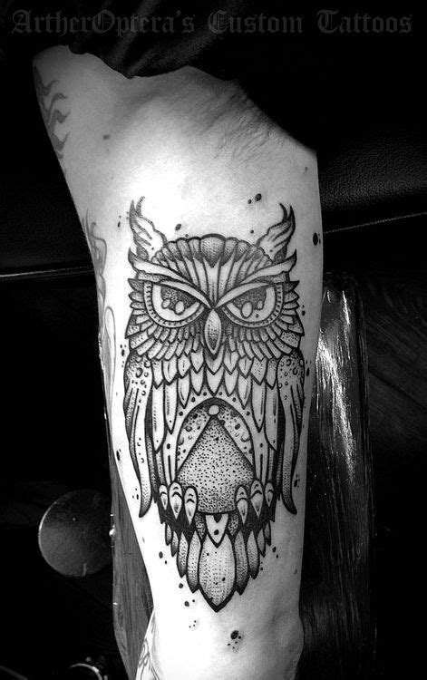 owl tattoo arm | Tattoos Idea | Pinterest | Manga Tríceps e Ideias | Owl Man Tattoo | Tricep