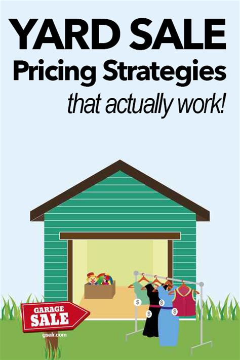 yard sale pricing yard sale pricing tips that you don t want to miss garage sale blog