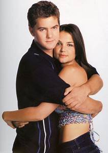 Joshua Jackson and Katie Holmes aka Pacy Witter and Joey ...