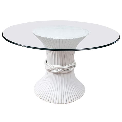 glass top pedestal dining table pedestal glass top table at 1stdibs