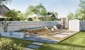 plage de piscine quel revetement pour votre terrasse de With decoration bois exterieur jardin 11 transformer maison traditionnelle en maison contemporaine