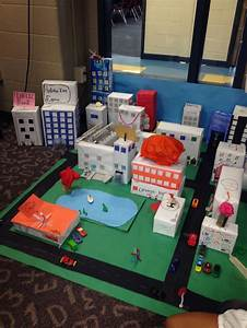 3d City Made By My Third Grade Classes