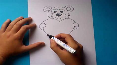 como dibujar un de peluche paso a paso 2 how to draw a teddy 2