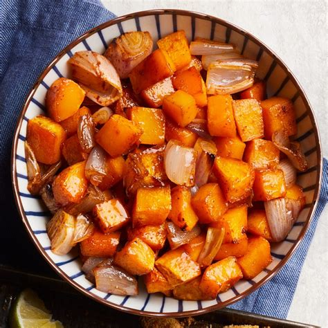 Maple-Chili Roasted Butternut Squash Recipe - EatingWell