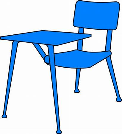 Desk Clipart Clip Desks Table Classroom Cliparts
