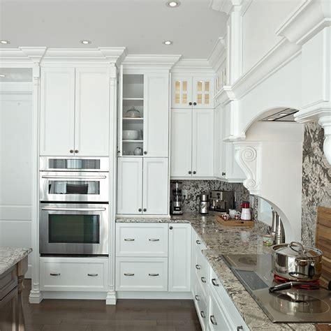cuisine armoires blanches cuisines beauregard cuisine réalisation 286 cuisine