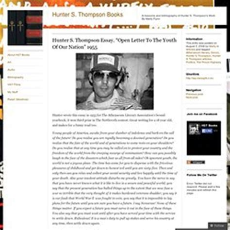 s thompson writes a blistering the top letter to writing pearltrees 22560