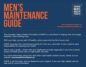 Men U0026 39 S Maintenance Guide