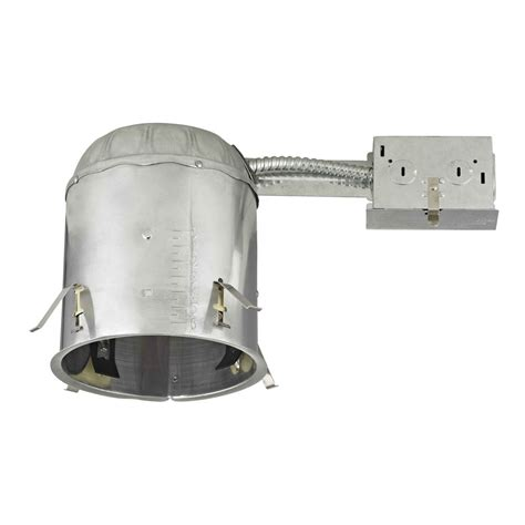 ic rated can lights 6 quot remodel recessed can light ic and airtight rated