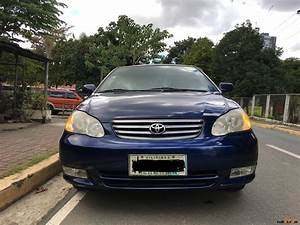 Toyota Corolla 2002 : toyota corolla 2002 car for sale metro manila ~ Medecine-chirurgie-esthetiques.com Avis de Voitures